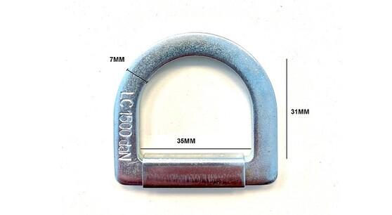 Anneau D 35mm 1500daN